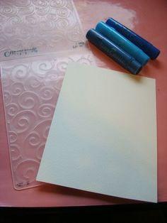 Gelatos embossing folders