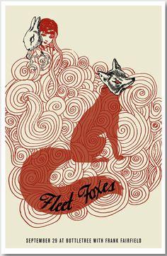 Red Fox & Rabbit, Interesting Artwork