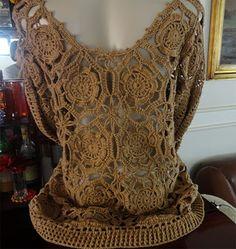Brasil Tricô e Crochê - Handmade: Blusas de verão