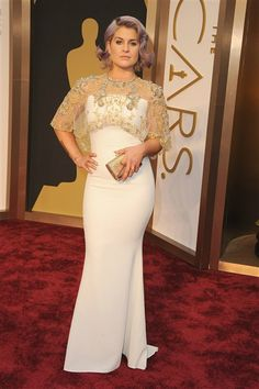 Kelly Osbourne attends the 86th annual Academy Awards at the Dolby Theatre in Hollywood on March 2, 2014.