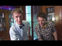 Tie a Bowtie with Bill Nye and Chris Hardwick - Bowtie Tutorial / #diy