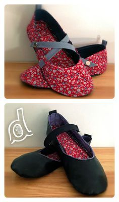 How to Make Fabric Slippers with Free Pattern www. Sewing Clothes, Diy Clothes, Sewing Slippers, Diy Vetement, Shoe Pattern, Creation Couture, Couture Sewing, How To Make Shoes, Sewing Accessories