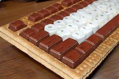Keyboard Dessert...okay well it's not simply technology, but it's simply dessert technology.