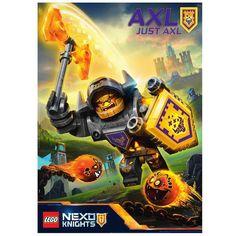 LEGO NEXO KNIGHTS will soon catapult into action! #UpgradeYourPower #Axl #LEGO
