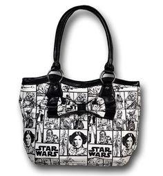 Images of Star Wars Checkered Handbag w/Bow