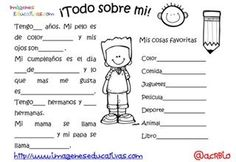 Preschool Spanish, Elementary Spanish, Spanish Activities, Spanish Classroom, Teaching Spanish, First Day School, Beginning Of School, Middle School, Bilingual Education