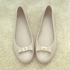 Tory Burch Flats size 5 Worn 1x, box included Tory Burch Shoes Flats & Loafers