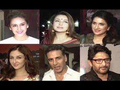 Bollywood celebs at special screening JOLLY LLB 2 at Juhu PVR. Jolly Llb, Akshay Kumar, Bollywood, Interview, Celebs, Music, Youtube, Celebrities, Muziek