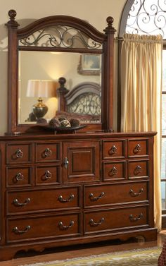 wrought iron and wood bedroom sets | ... Bedroom Set with Wrought ...