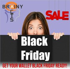Start budgeting today, you don't want to lose out on our special offers.  Keep an eye on our Facebook page for more information. #brainyacts #blackfriday #special