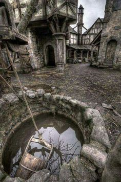 Abandoned Village in Scotland.