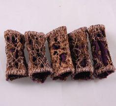 Dreadlock Fabric Bead - Nell Burns (Canada)