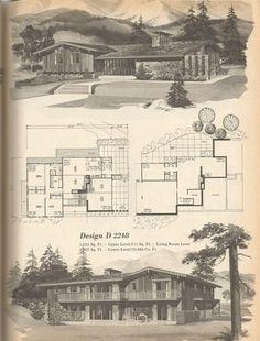 Vintage House Plans, 1970s