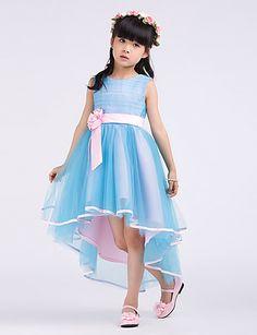 Lindo vestido para niña flor