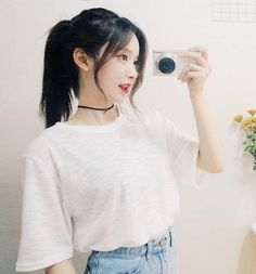 from the story [ 12 Chòm Sao ] Young And Reckless. by (Nhã Thiên) with reads. Mode Ulzzang, Ulzzang Girl, Cute Korean, Korean Girl, Beauty Tips For Skin, Hair Beauty, Gina Wild, Girl Korea, Asian Hair
