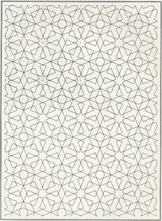 rather sweet. this moves well, nice stars...Pattern in Islamic Art - BOU 045