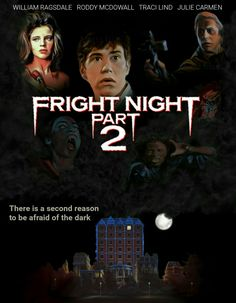 Fright Night 2 Horror Movie Vampires Fan Made Edit Best Movie Posters, Horror Movie Posters, Horror Movies, Sci Fi Movies, Scary Movies, Good Movies, Horror Pictures, Horror Pics, Slasher Movies