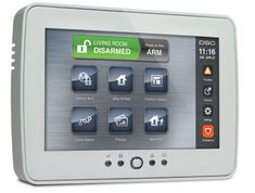 DSC PowerSeries TouchScreen Security Interface - PTK5507