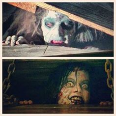 Evil Dead - is there something wrong with me because she makes me LOL? beeeOtch, get back in the basement! ;-)