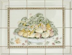 Decorative Relief Tile Ideas traditional