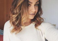 Andrea's new hair Dyed Blonde Hair, Dye My Hair, New Hair, Messy Hairstyles, Pretty Hairstyles, Andrea Russett, Hair Today, Hair Inspo, Hair Goals
