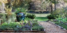The garden I dream of - this one is from Garden and Gun and features a home on the Chattahoochee