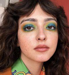 Cool Makeup Looks, Creative Makeup Looks, Cute Makeup, Pretty Makeup, Makeup Art, Beauty Makeup, Hair Makeup, Hair Beauty, Eye Makeup Designs