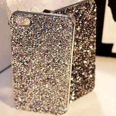 Nieuwe stijl luxe bling rhinestone cover fashional diamonds crystals telefoon case voor iphone 5