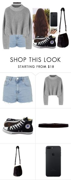 """""""Untitled #6001"""" by hannahmcpherson12 ❤ liked on Polyvore featuring Topshop, Converse, Steve Madden and Nomadic"""