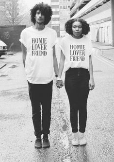 "Image of WORK IT ""HOMIE LOVER FRIEND"" T-SHIRT"