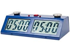 Professional Tournament Chess Game Clock Blue *** See this great product.