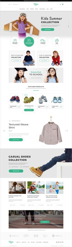 Kidos is modern and fresh design #PSD #template for #Kids shopping #eCommerce website download now➩ https://themeforest.net/item/kidos-kids-clothing-ecommerce-psd-template/18705291?ref=Datasata