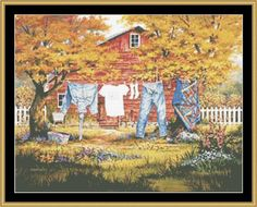 Line Dancers [MH-60] - $16.00 : Mystic Stitch Inc, The fine art of counted cross stitch patterns. Pattern designed by Michael Humphries.  Purchase from www.mymystickstitch.com