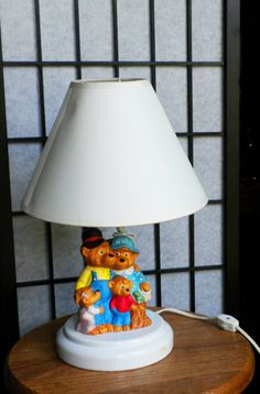 The Berenstain Bears Lamp Ceramic $18.50.  I know our youngest would love this too.