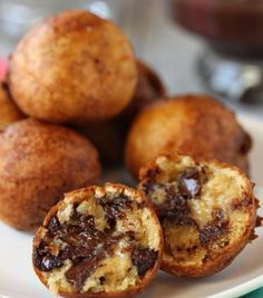 Deep Fried Cookie Dough::: my sweet tooth and fried food cravings all rolles into one