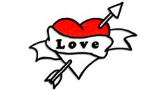 How to draw heart of love step by step and coloring drawing of heart arrow of love you, videos to learn to draw and color. Heart With Arrow, Love Heart, Love Drawings, Coloring For Kids, Cute Tattoos, Learn To Draw, Kobe, Kawaii, Relationship
