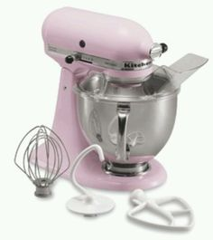 Pink kitchen aid
