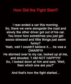How Did The Fight Start?