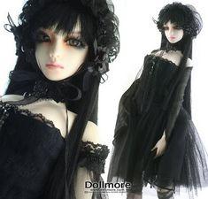 Elegant Gothic Fashion Dolls