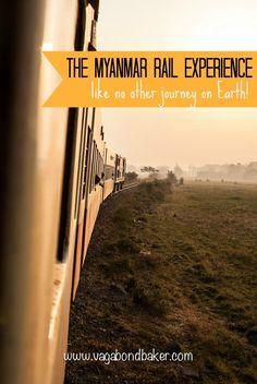 The wonderfully unique Myanmar rail experience // Burma // train