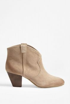 River Island Beige suede zip side ankle boots £45.00 | Shoes ...