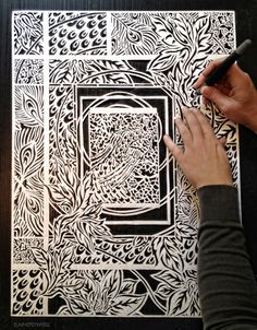 Paper cutting is one of the most exquisite design techniques in the world