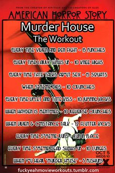 """A workout for Season 1. 