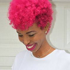 houseofhayat's pink frohawk. Its so fly - OfficiallyNatural - UK ...