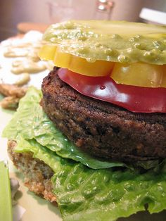 oliveLentilBurgers_001 by veganheathen, via Flickr