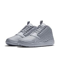 quality design 6e36b 6ed22 Nike Jordan Men s Jordan Eclipse Chukka Wolf Grey White Black Basketball  Shoe 12 Men US