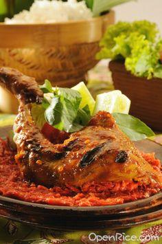 Ayam bakar sambal jeletot - Bandung West Java