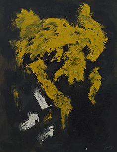 Lucio Fontana, Concetto Spaziale, 1957 guggenheim venice