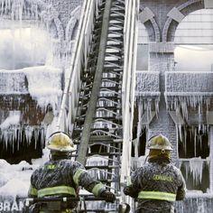 #Philadelphia: dopo il fuoco, il ghiaccio