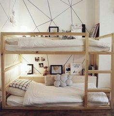 Ikea Kinderzimmer Bett Best Of 40 Cool Ikea Kura Bunk Bed Hacks Modern Bunk Beds, Cool Bunk Beds, Bunk Beds With Stairs, Kids Bunk Beds, Boys Bunk Bed Room Ideas, Black Bunk Beds, House Bunk Bed, Kura Ikea, Kura Bed Hack